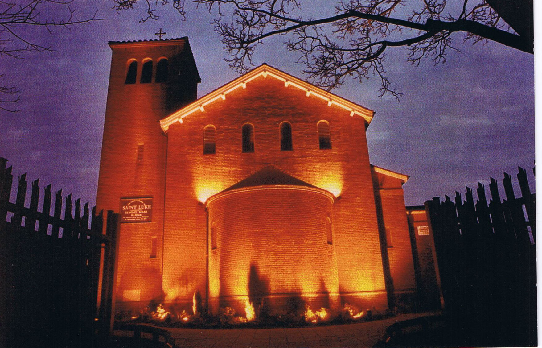 Saint Luke's at Night